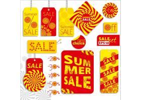 夏季销售标签套装_868892