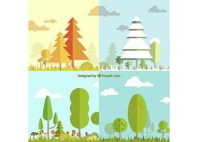 四季皆有树木景观_758440