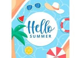 夏天好带游泳池必需品_7942598