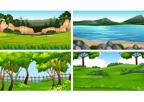 一组自然景观_4806933