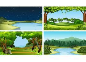 一组自然景观_4932684