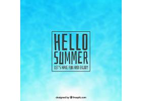 你好背景模糊的夏天_2186518