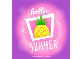 你好背景模糊的夏天_2285193