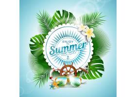享受夏日背景_1155219