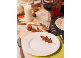 高角度感恩节晚餐安排_10270111