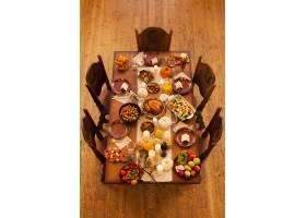 高角度感恩节晚餐安排_10270126