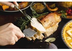感恩节餐饮概念特写_10302812