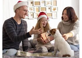 家庭对圣诞节概念的正面看法_10848757