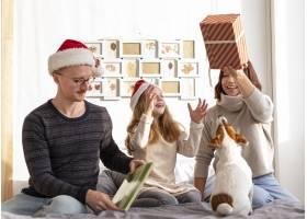 家庭对圣诞节概念的正面看法_10848759