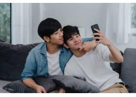 亚洲有影响力的同性恋情侣在家Vlog亚洲LG_6137029