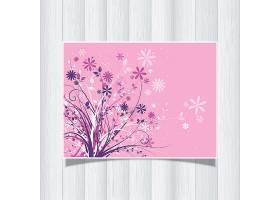 装饰性花卉背景_892943