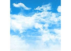 逼真的天空背景_902308