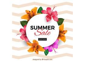 花卉夏季销售背景_2226302