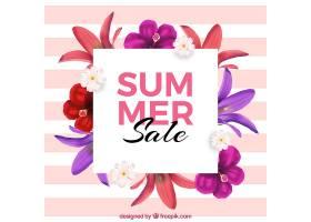 花卉夏季销售背景_2226305