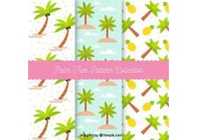 棕榈树的夏季装饰图案_1101506
