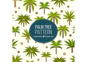 平面设计中的棕榈树图案_1097331