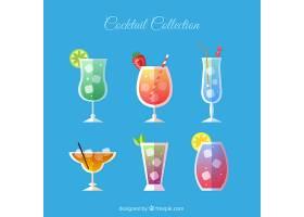 平面设计的夏日饮品收藏_1185888
