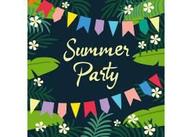 夏日派对背景_1146235