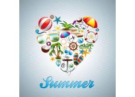 夏季背景设计_1020321