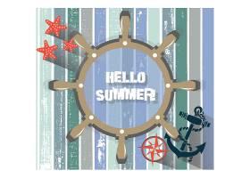 夏季背景设计_1065032