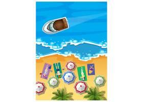 夏季背景设计_1078340