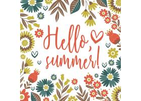 夏季背景设计_1079259