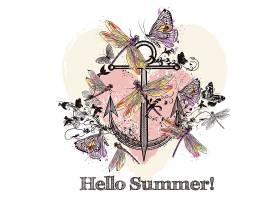 夏季背景设计_1084447