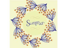 夏季背景设计_1092301