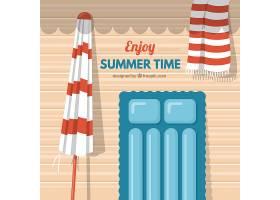 夏季背景设计_1136242