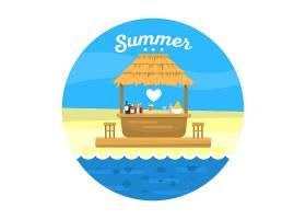 夏季背景设计_993514