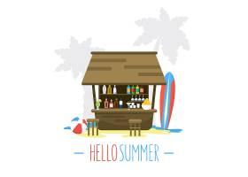 夏季背景设计_993515