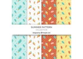 四件一套的现代夏装图案_2159607