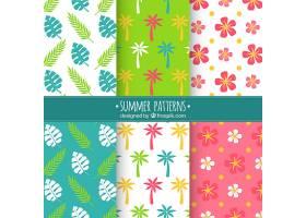 各式各样的夏日装饰图案_1112175
