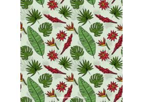 不同植物的夏季模式_2330620