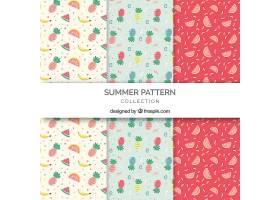 三件一套的现代夏装图案_2159603