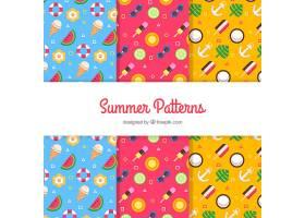 三种丰富多彩的夏日图案合集_2157718