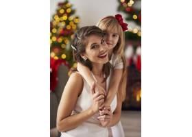幸福的母女特写_11777922