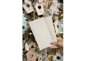 带文案空间的圣诞概念特写视图_10750986