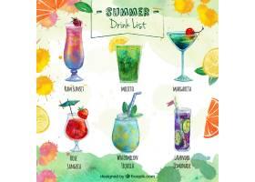 美味夏日饮料单_892822