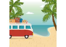 海滩海景美景_5154071