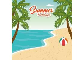 海滩海景美景_5154151