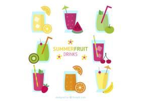 美味的夏季水果饮料_878693