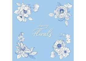 花束春线艺术概念设计水彩插图_12954226
