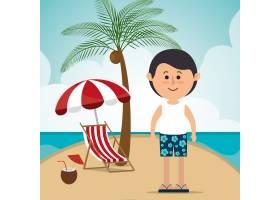 暑假度假和旅行_6051247