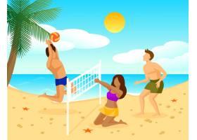 暑期度假公寓概念_9514212