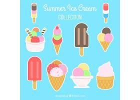 彩色冰淇淋标签系列_874901