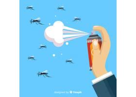 手持式蚊香喷雾的概念_3127107