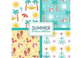 平面设计中夏季装饰图案的多样性_1109935