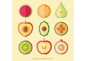 平面设计中的水果收藏_1113213