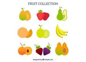 平面设计中的水果收藏_1134054